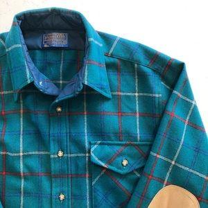 FLAWLESS Vintage Pendleton Plaid Wool Shirt - M